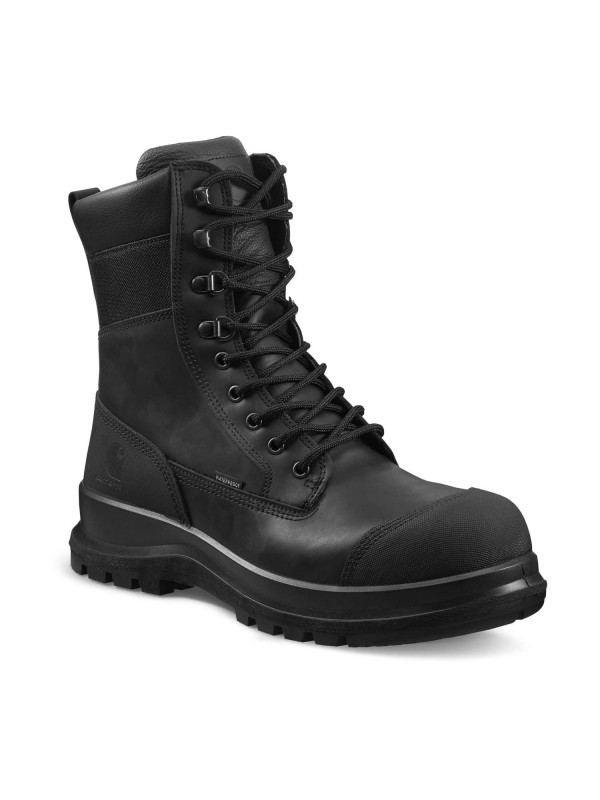 "Carhartt Detroit 8"" Safety Boot : Black - VAT FREE"