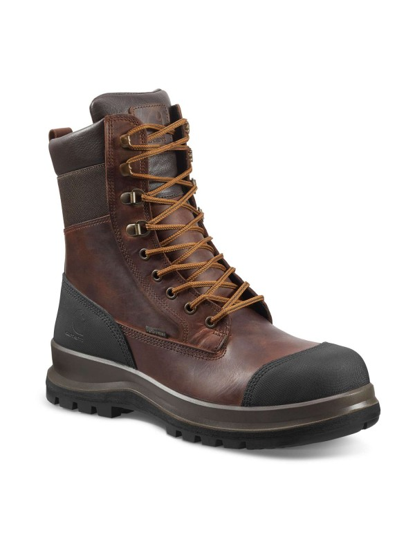 "Carhartt Detroit 8"" Safety Boot : Brown VAT FREE"