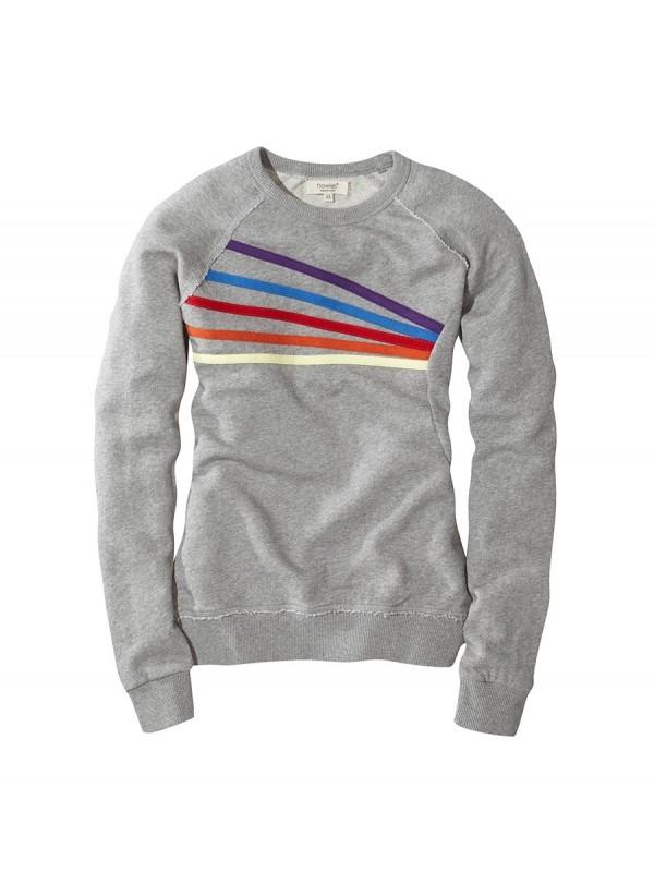 howies Womens Bow Organic Cotton Sweatshirt