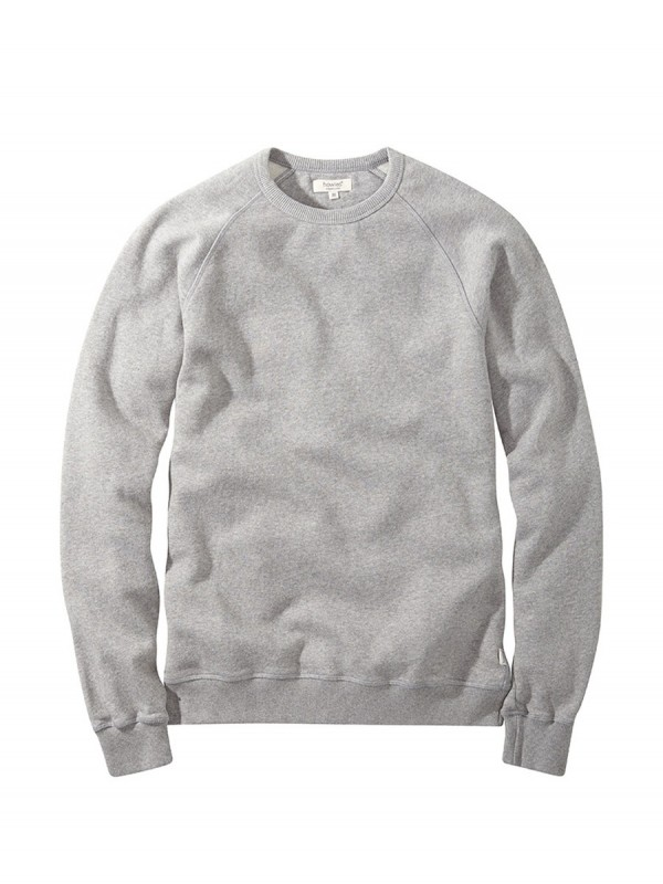 howies Crw Organic Sweat : Grey Marl