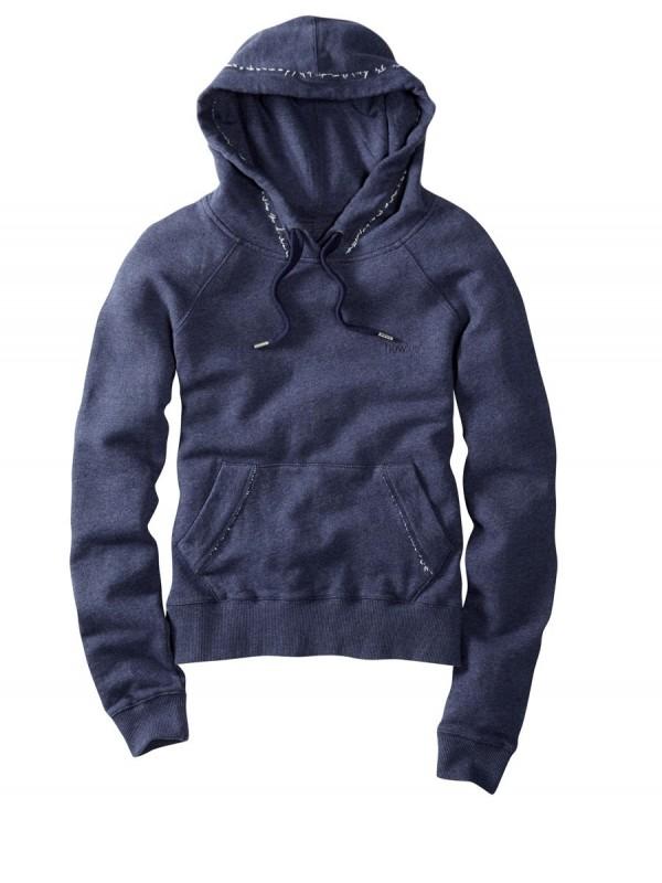 howies Womens Hyda Hooded Sweatshirt : Navy