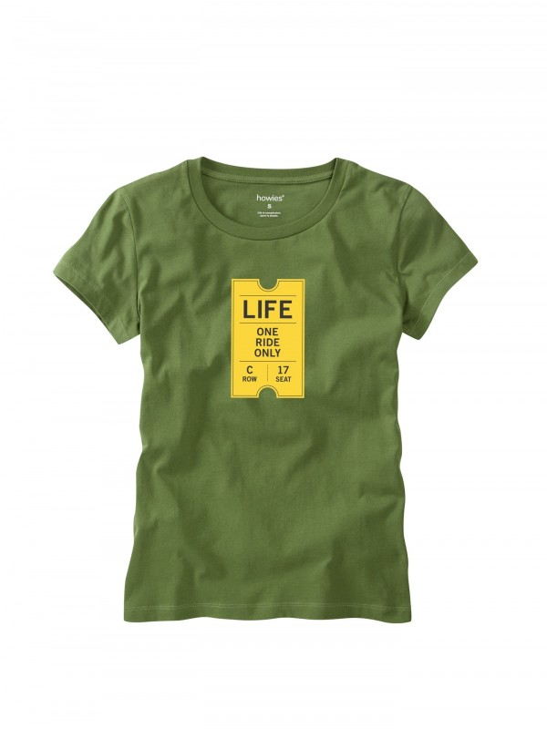 howies One Ride Organic Cotton T- Shirt : Loxley