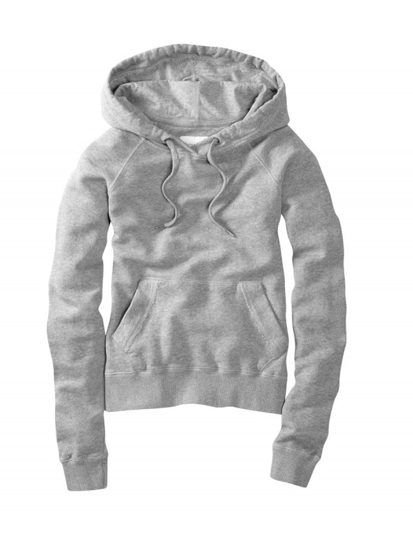 howies Womens Hyda Hooded Sweatshirt : Grey Marl