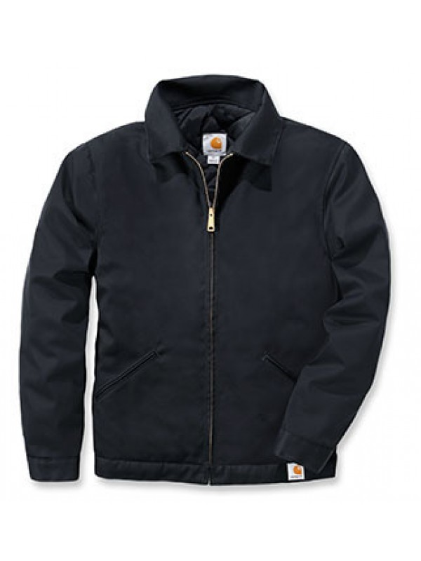 Carhartt Black Twill Work Jacket