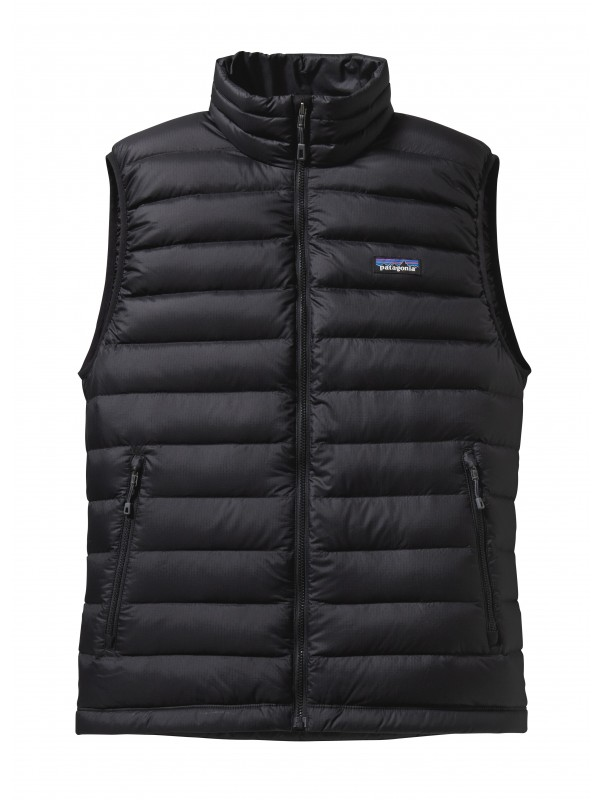 Patagonia Men's Black Down Sweater Vest