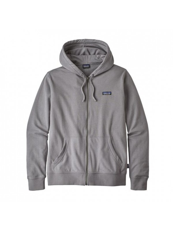 Patagonia Men's P-6 Label Lightweight Full-Zip Hoody : Feather Grey
