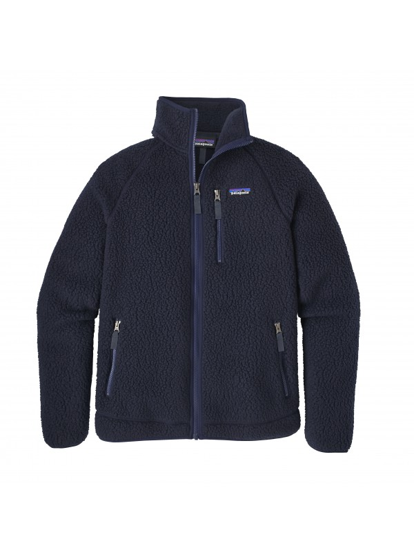 Patagonia Men's Navy Blue Retro Pile Fleece Jacket