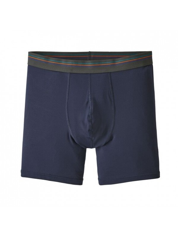 "Patagonia Men's Sender Boxer Briefs - 6"" :  New Navy"