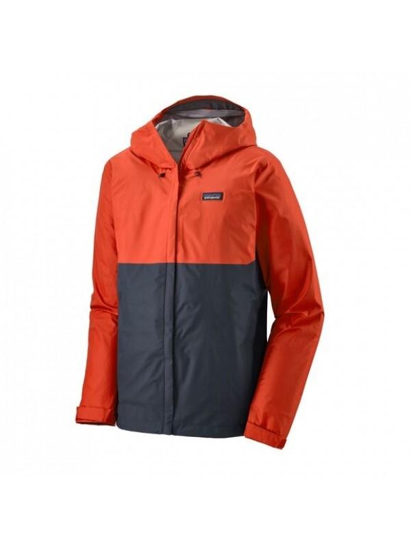 Patagonia Men's Torrentshell 3L Waterproof Jacket : Hot Ember