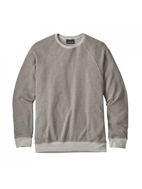 Patagonia Men's Trail Harbor Crewneck Sweatshirt : Long Plains: Dyno White