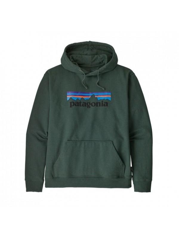 Patagonia Men's P-6 Logo Uprisal Hoody : Alder Green