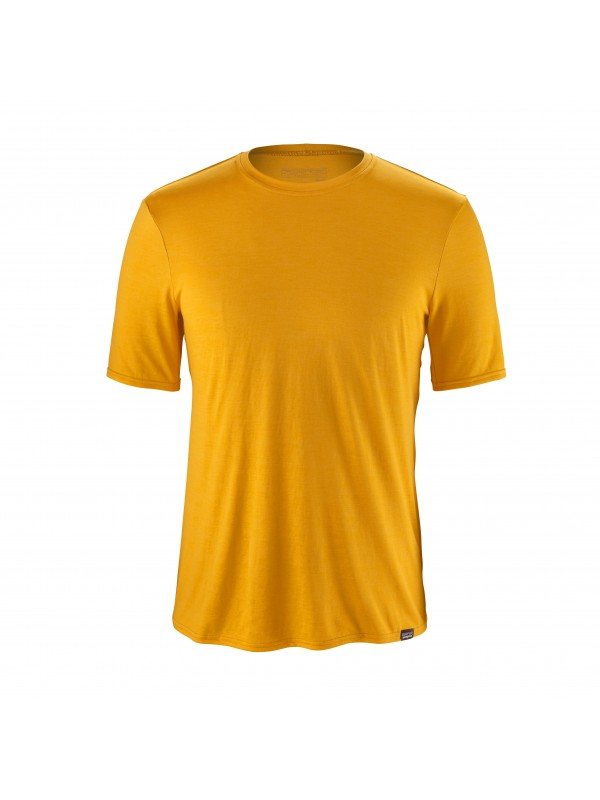 Patagonia Men's Rugby Yellow Capilene® Daily T-Shirt