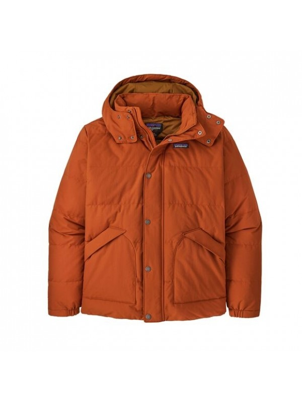 Patagonia Mens Downdrift Jacket : Sandhill Rust