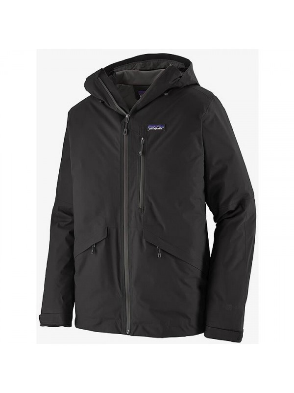 Patagonia Mens Insulated Snowshot Jacket : Black