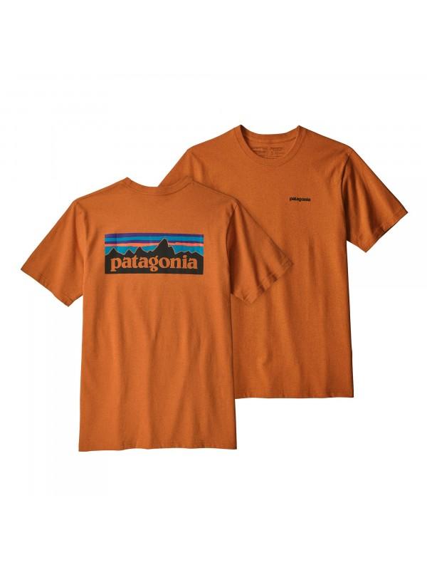 Patagonia Mens  P-6 Logo Responsibili-Tee : Marigold