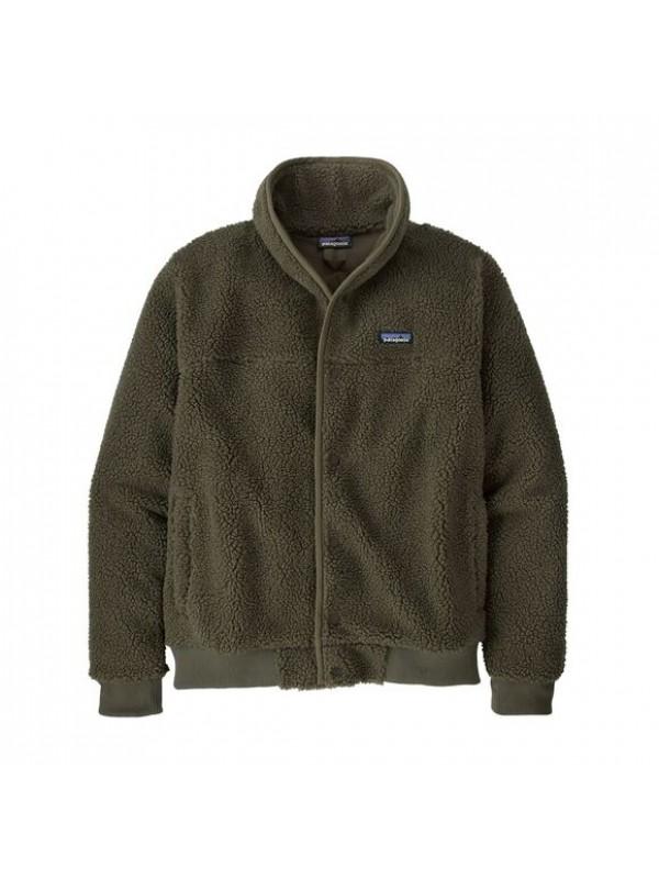 Patagonia Mens Snap Front Retro-X Fleece Jacket : Basin Green