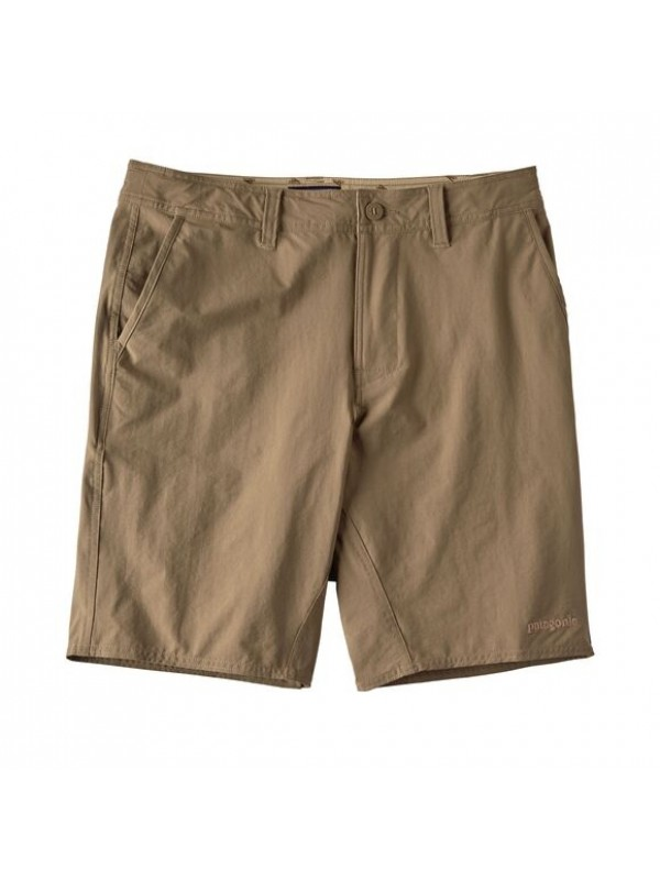 "Patagonia Mens Stretch Wavefarer Walk Shorts - 20"" : Ash Tan"