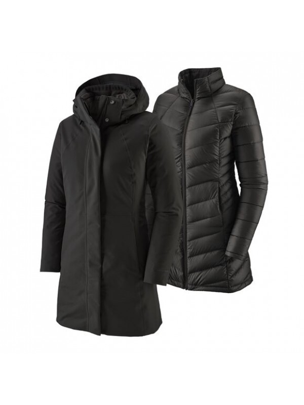 Patagonia Women's Tres 3-in-1 Parka : Black 28409 BLK F21