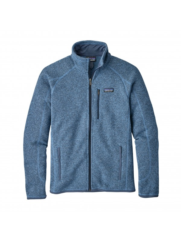 Patagonia Mens Better Sweater Fleece Jacket : Railroad Blue