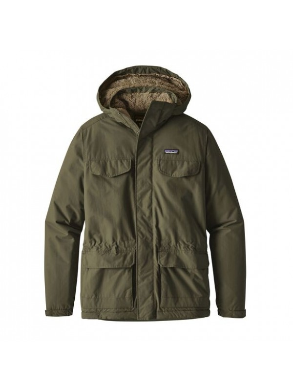 Patagonia Men's Isthmus Parka : Industrial Green