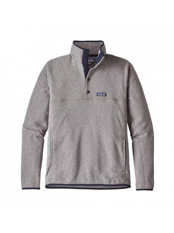 Patagonia Men's  Better Sweater™ Marsupial Fleece Pullover : Feather Grey