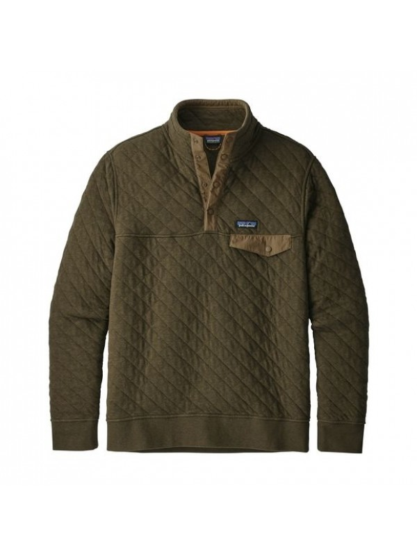 Patagonia Sediment Cotton Quilt Snap-T® Pullover
