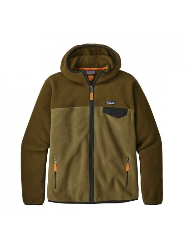 Patagonia Mens  Lightweight Synchilla Snap-T Hoody : Cargo Green