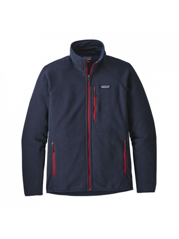 Patagonia Mens Performance Better Sweater Fleece Jacket : Navy Blue