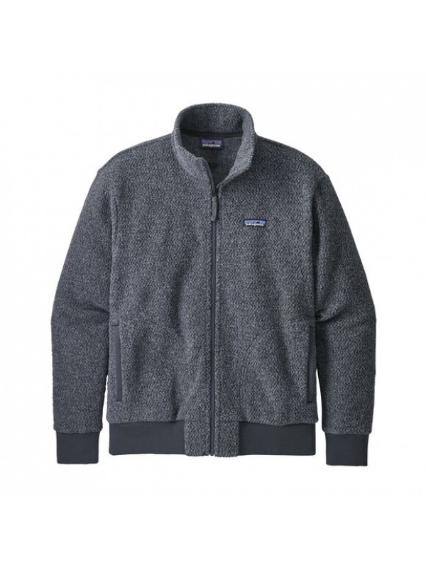Patagonia Men's Woolyester Fleece Jacket : Forge Grey