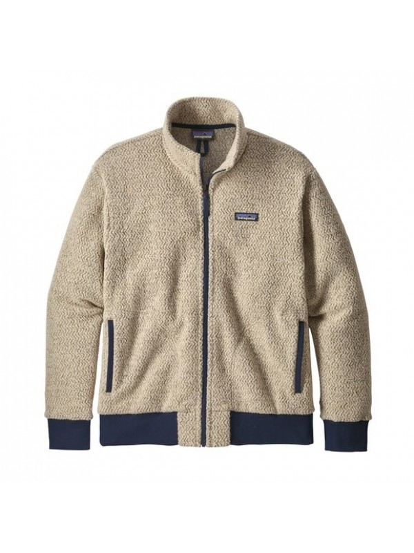 Patagonia Men's Woolyester Fleece Jacket : Oatmeal Heather