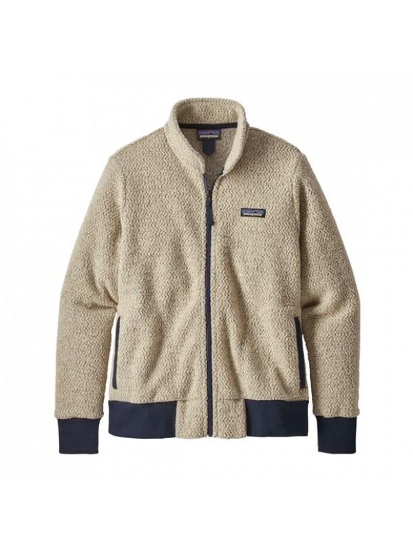 Patagonia Women's Woolyester Fleece Jacket : Oatmeal Heather