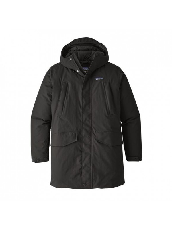 Patagonia Mens City Storm Parka : Black
