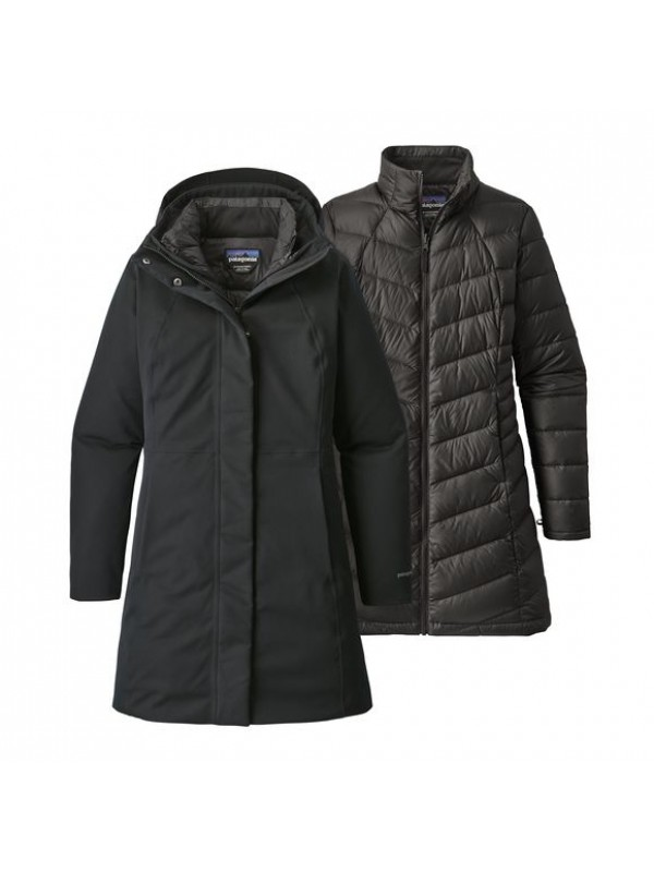 Patagonia Womens Black Tres 3-in-1 Parka