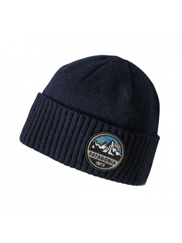 Patagonia Brodeo Beanie : Fitz Roy Scope: Navy Blue