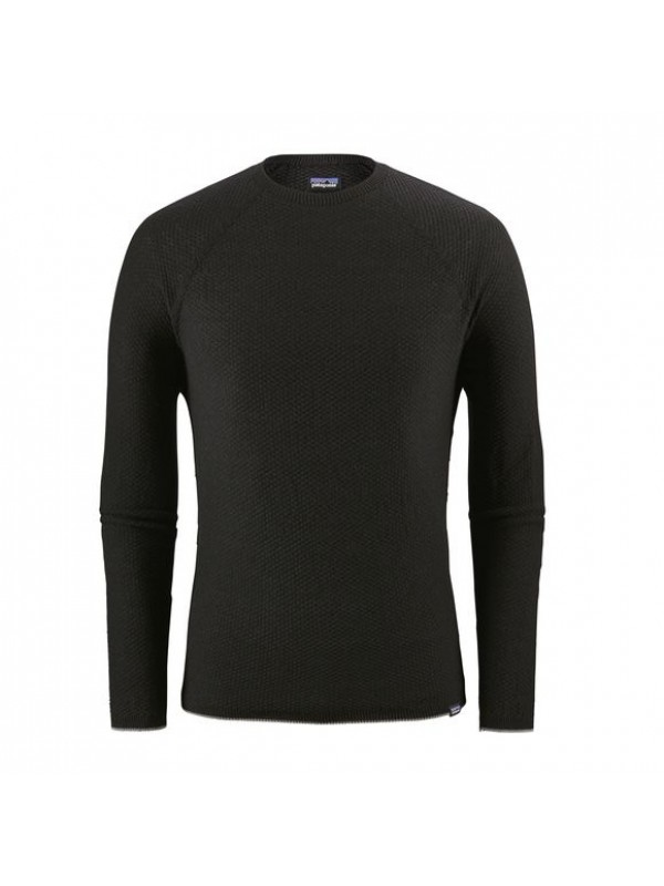 Patagonia Mens Capilene Air Crew  : Black