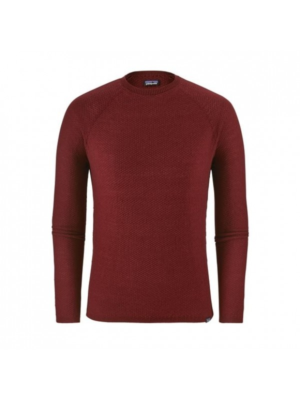 Patagonia Mens Capilene Air Crew : Oxide Red