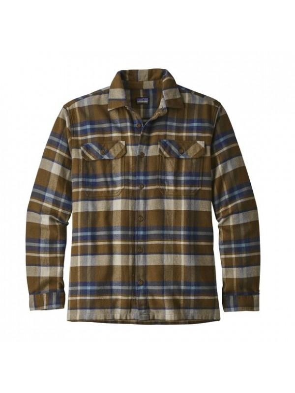 Patagonia Sediment Fjord Flannel Shirt