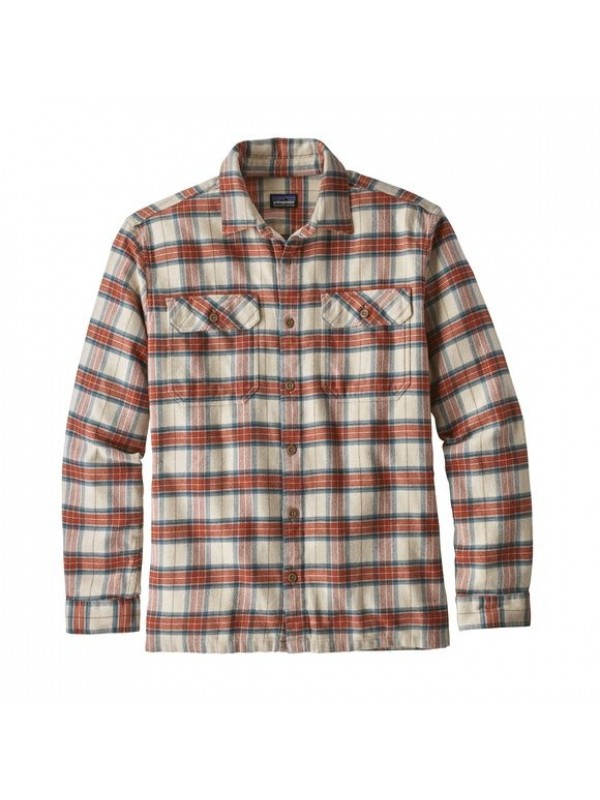 Patagonia Light Sesame Fjord Flannel Shirt