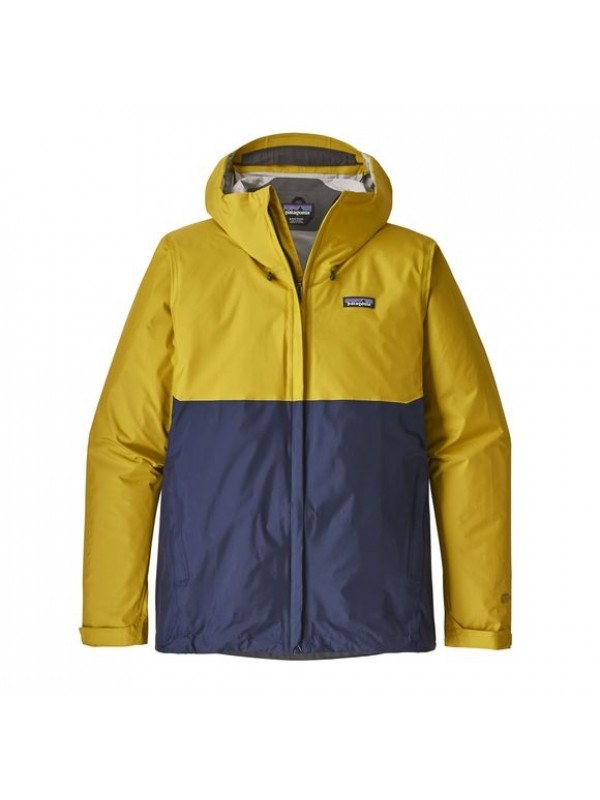 Patagonia Mens Textile Green Torrentshell Jacket