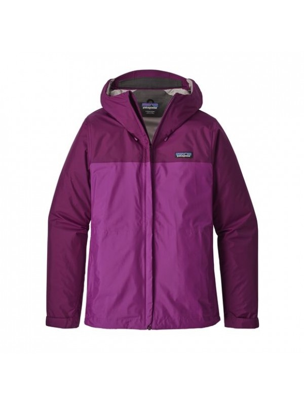Patagonia Women's Torrentshell Jacket: Geo Purple