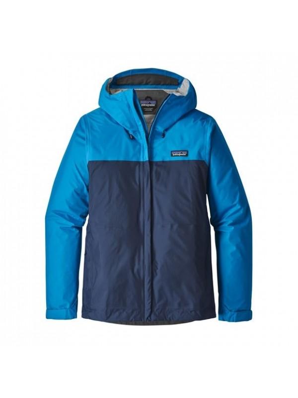 Patagonia Women's Torrentshell Jacket: Lapiz Blue w Navy Blue