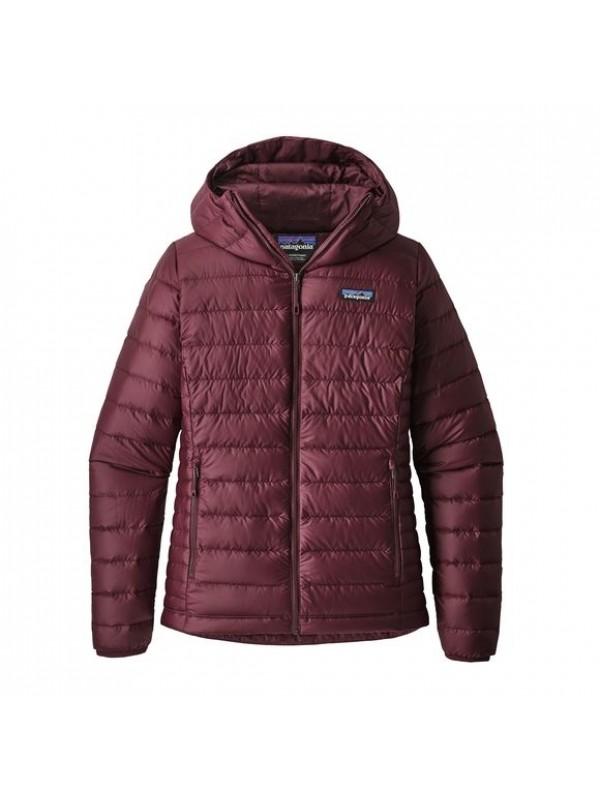 Patagonia Women's Down Sweater Hoody:Dark Current