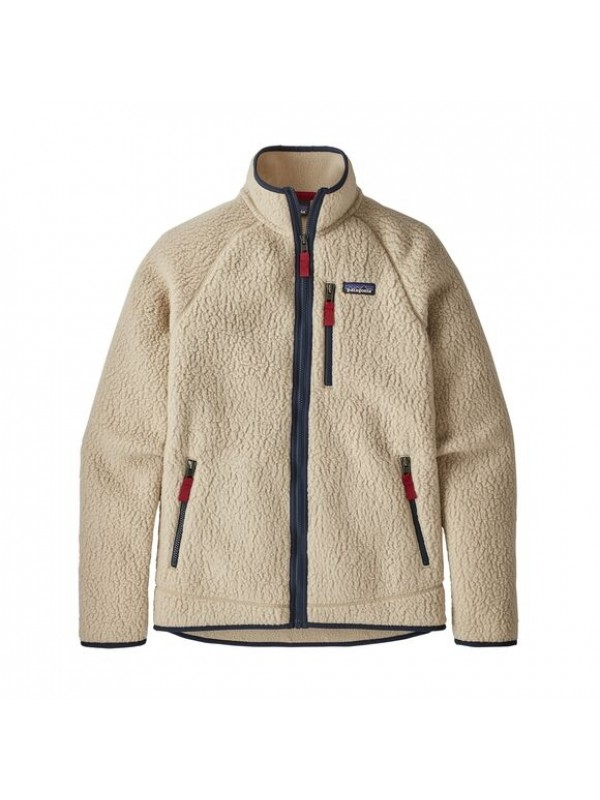 Patagonia Men's Retro Pile Fleece Jacket : El Cap Khaki