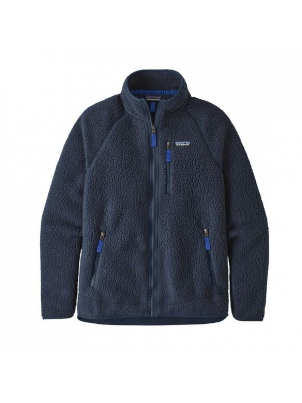 Patagonia Men's Retro Pile Fleece Jacket : New Navy