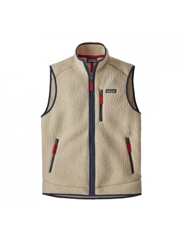 Patagonia Men's Retro Pile Fleece Vest : El Cap Khaki