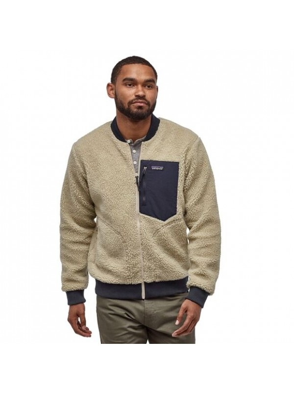 Patagonia Men's Retro-X™ Fleece Bomber Jacket : Pelican