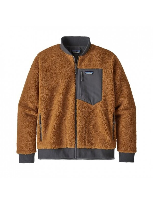 Patagonia Men's Retro-X™ Fleece Bomber Jacket : Wren Gold