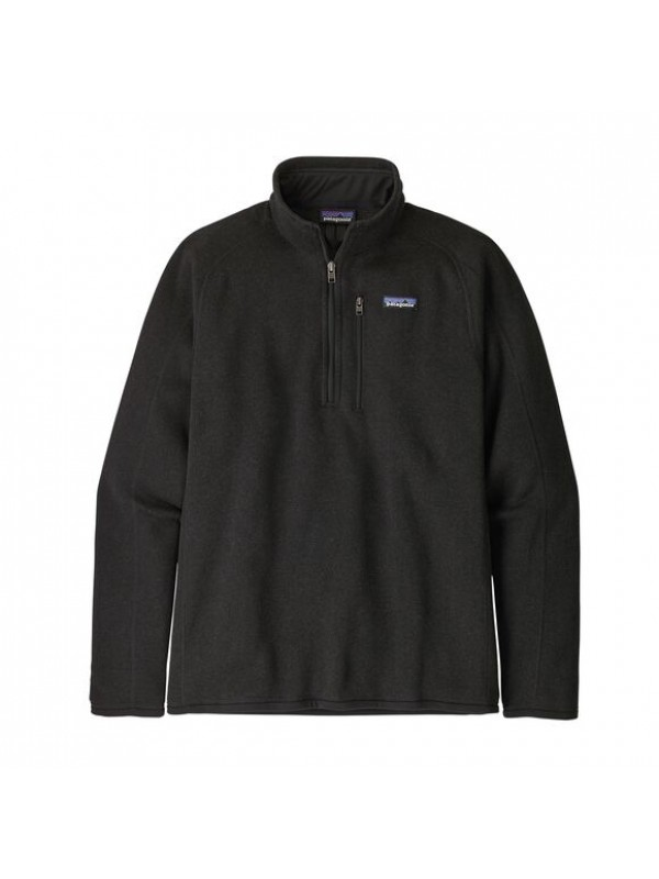 Patagonia Men's Better Sweater™ 1/4-Zip Fleece : Black