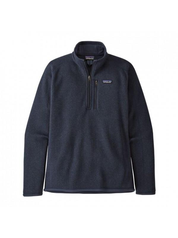 Patagonia Men's Better Sweater™ 1/4-Zip Fleece : New Navy