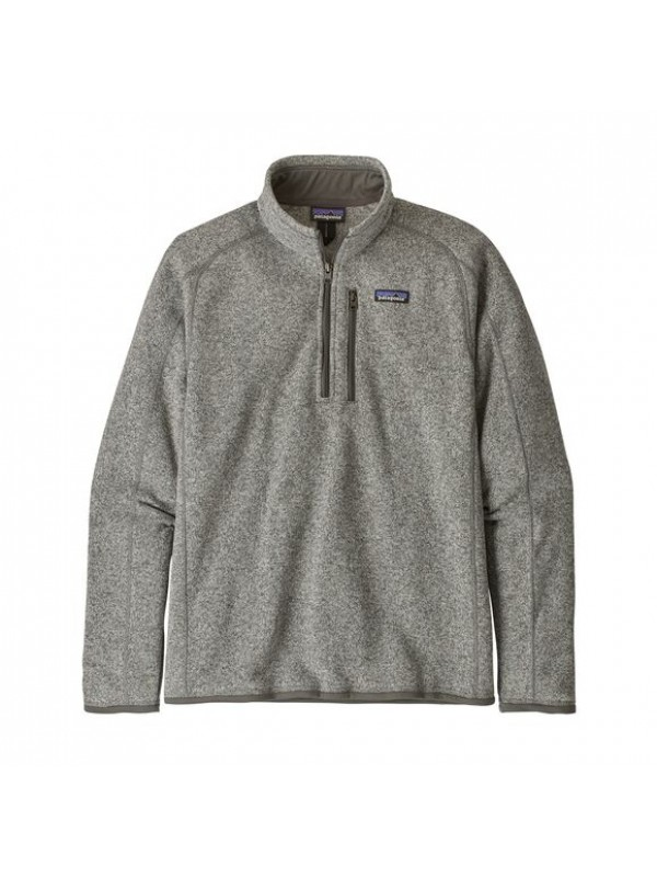 Patagonia Men's Better Sweater™ 1/4-Zip Fleece : Stonewash